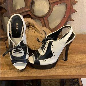 Women's Bebe heels size 7